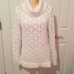 WHBM Crochet Sweater